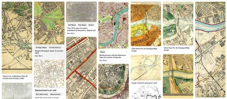 Pimlico London Map.Maps Of Pimlico London Sw1v 5 Fields
