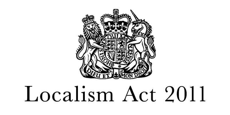 Localism Act 2011: Pimlico Neighbourhood Forum